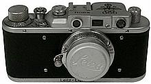 1936 LEICA OLYMPIC GAMES CAMERA W/LEATHER CASE, REPRODUCTION