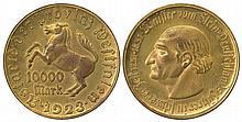 GERMANY 1921-23 VARIOUS NOTGELD COINS x7