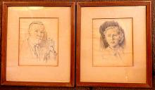 2 Hilton Mcdonald Hassell (1910-1980 Canadian) SKETCHES