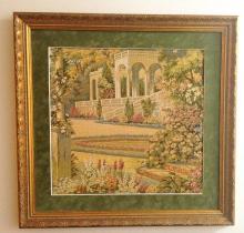 Vintage - Needlepoint/Petitpoint - Tapestry piece