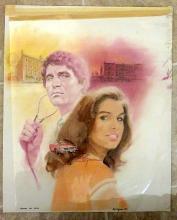 4 X Tom Bjarnson (Original Harlequin Cover Art)