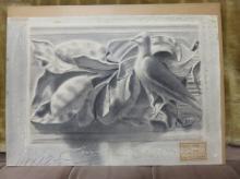2 X Pair of Pencil Drawings Unframed - South Kensington