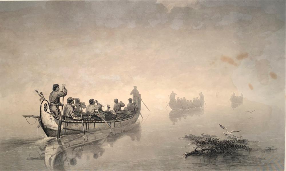 Francis Anne Hopkins (1838-1918) Lake Superior