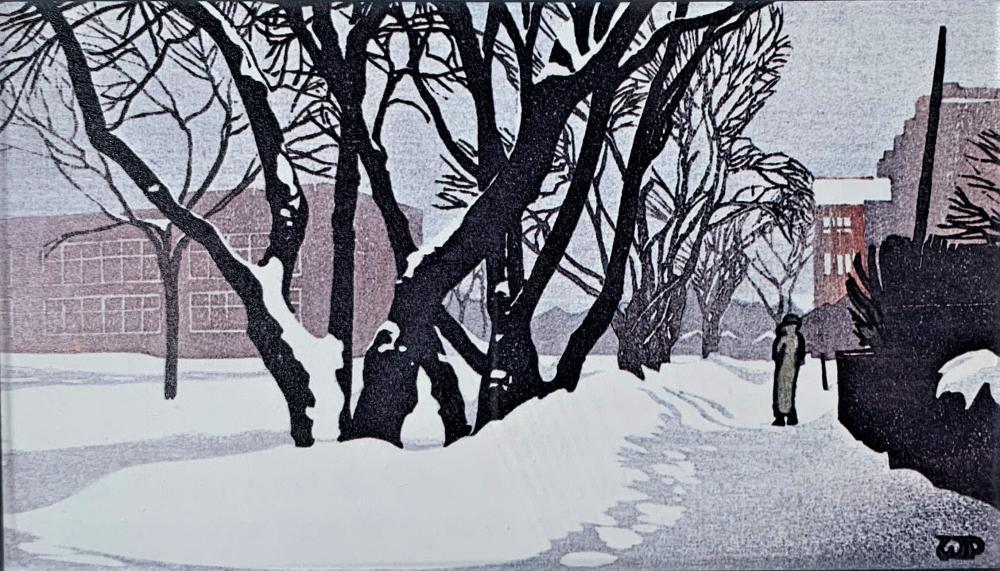 Walter Joseph Phillips (1984-1963) Our Street 1933