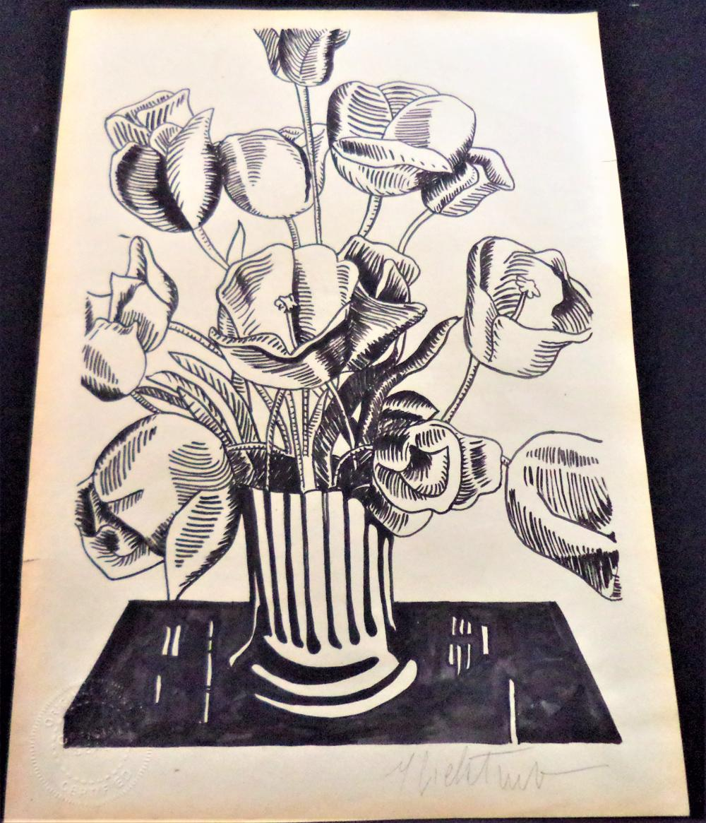 Fine Art: Haring Warhol Basquiat Picasso Neiman Miro Dali Lempicka Kandinsky Comic Art Batman Kane Herge Schulz Crumb