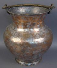 Vintage Hand Crafted Turkish Copper Water/ Wine Carrier