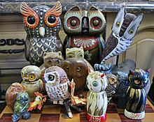 LOT OF OWLS