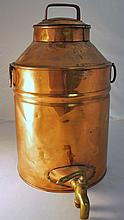 VINTAGE COPPER PLATED JUG