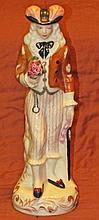 Staffordshire Polychrome Figurine