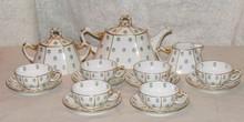 Limoges 15 Pc Tea Service - J. Pouyat
