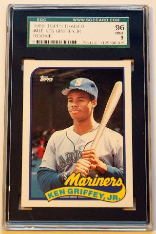 1989 Topps Ken Griffey Jr Rookie Card