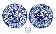 PAIR OF MOLDED PLATES