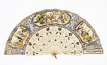 EUROPEAN FAN 19TH CENTURY