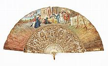 SPANISH FAN 19TH CENTURY