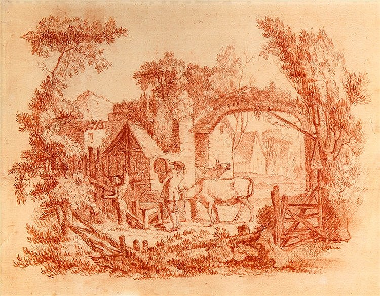 (possibly by) ABRAHAM BLOEMAERT (1566-1651), VILLAGE SCENE