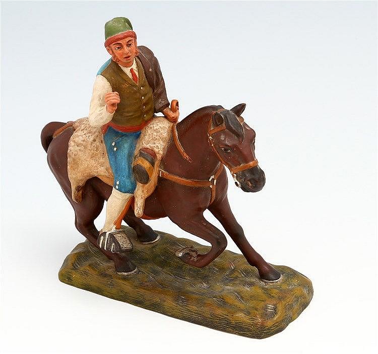 CAMPINO ON HORSEBACK