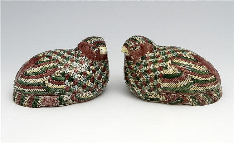 PAIR OF CASES-QUAILS