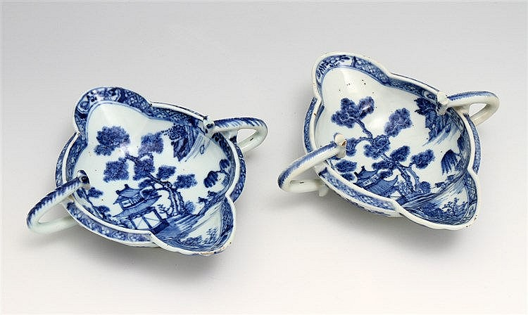 PAIR OF GRAVY BOATS