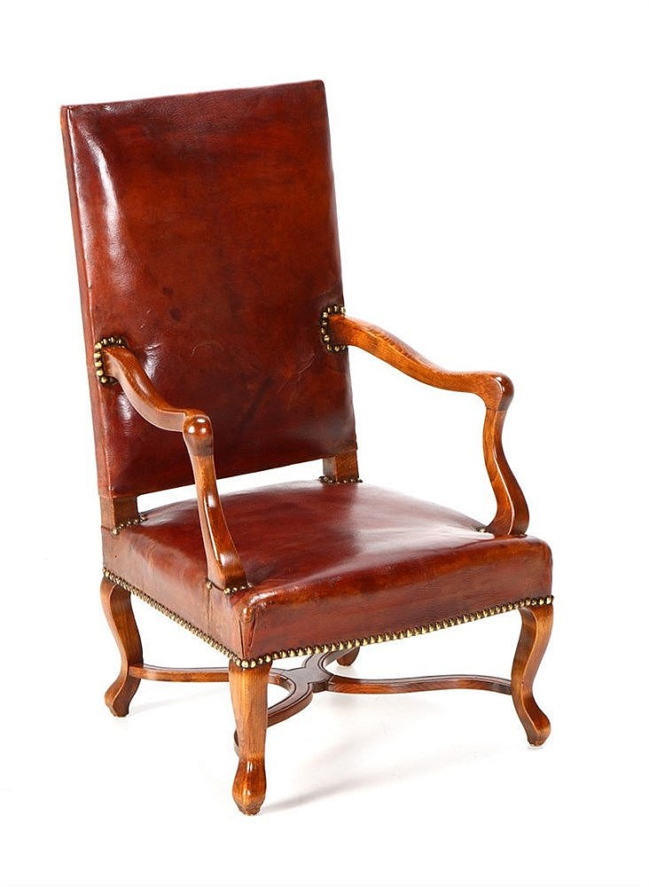 LOUIS XIV STYLE CHILD FAUTEUIL