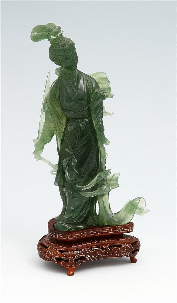 ORIENTAL FIGURE WITH A SWORD