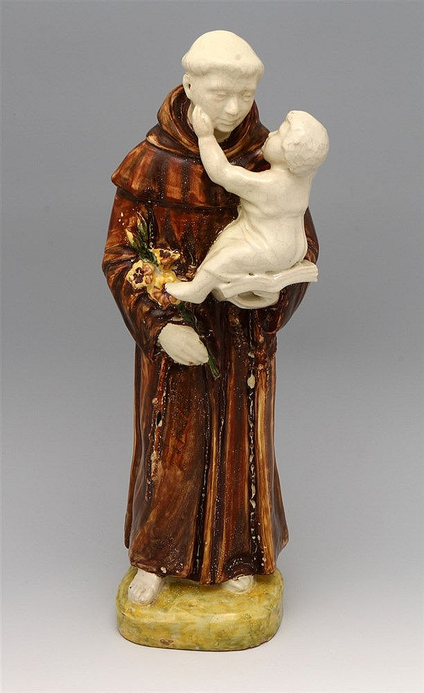 SAINT ANTHONY AND CHILD