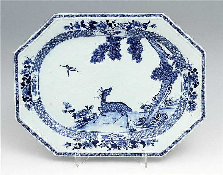 LARGE EIGHT-SIDED LONG PLATE