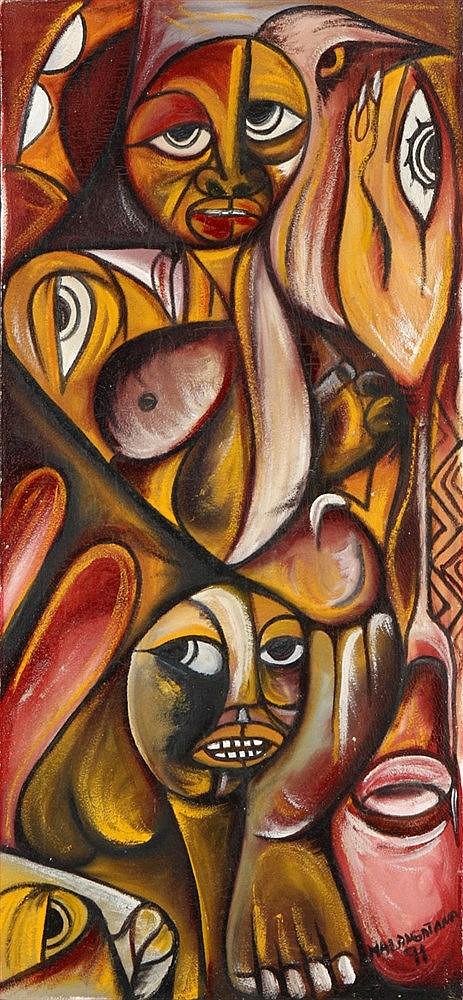 MALANGATANA (1936-2011), UNTITLED