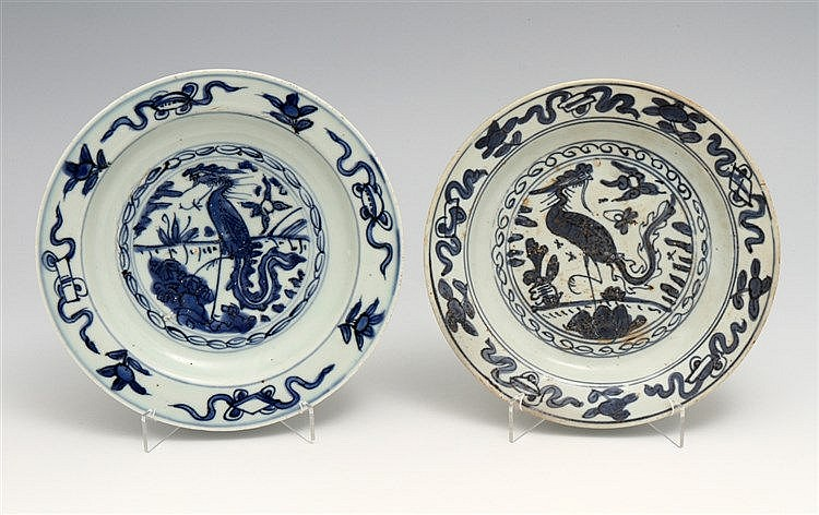 PAIR OF PLATES