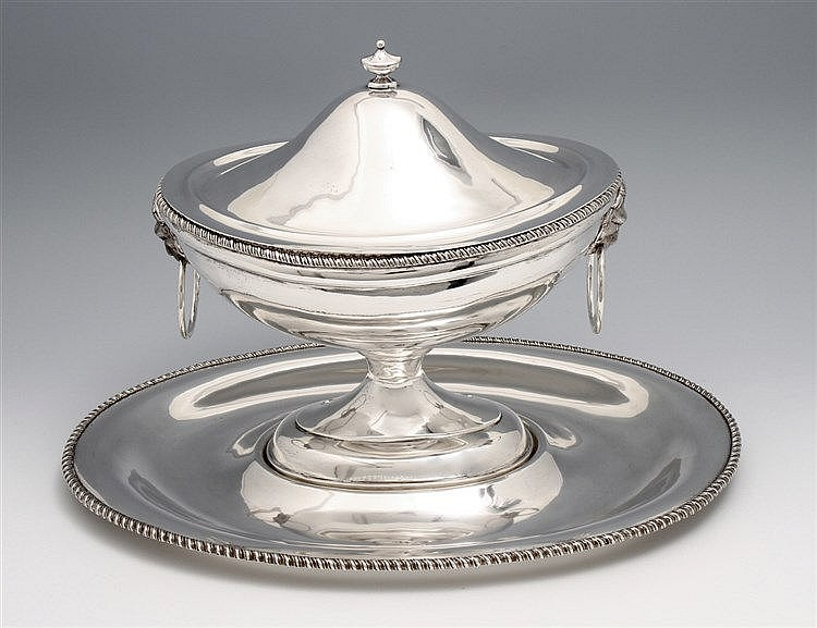 TUREEN WITH A PLATEAU