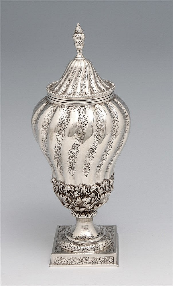 URN WITH A LID