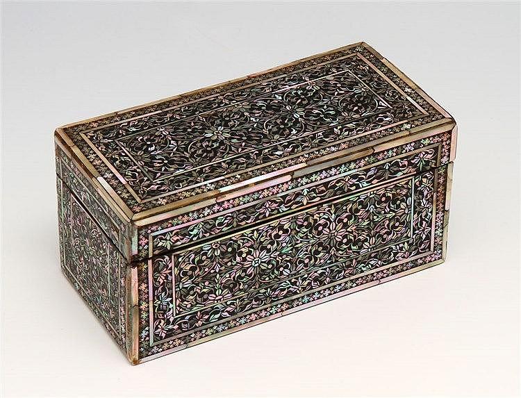 ORIENTAL CASE, 19TH CENTURY