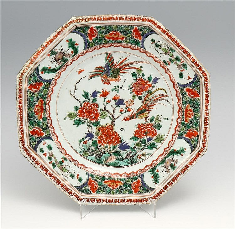 LARGE EIGHT-SIDED PLATE