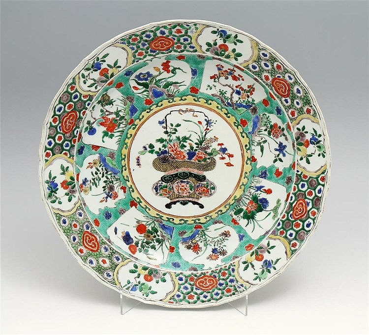LARGE LOBED PLATE