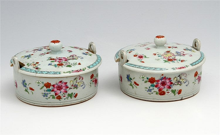 PAIR OF BUTTER TRAYS