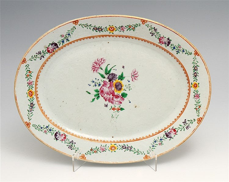 OVAL LONG PLATE