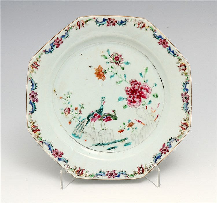 EIGHT-SIDED PLATE