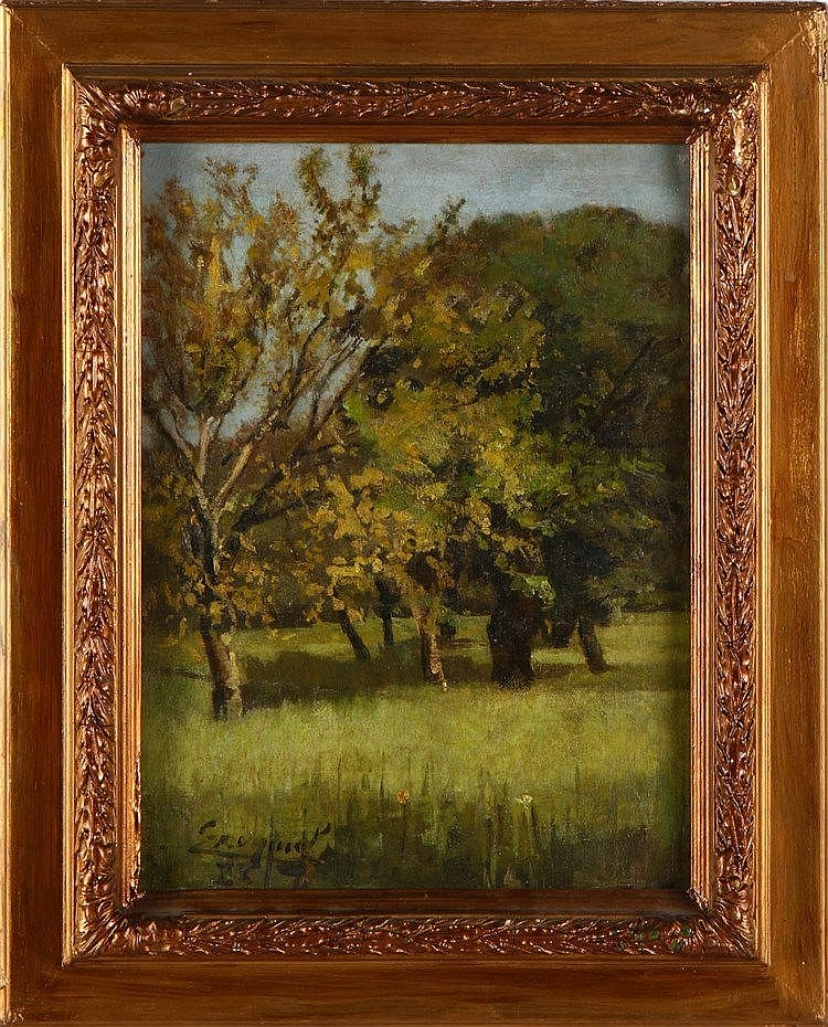 EZEQUIEL PEREIRA (1868-1943), RURAL SCENERY