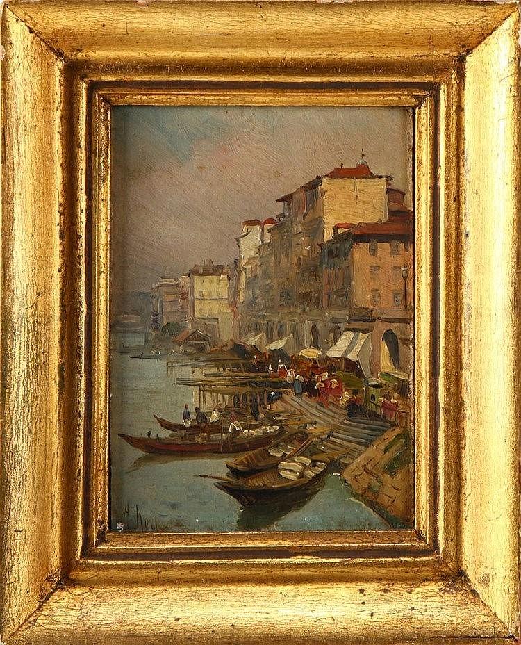 ALFREDO KEIL (1850-1907), VIEW OF PORTO