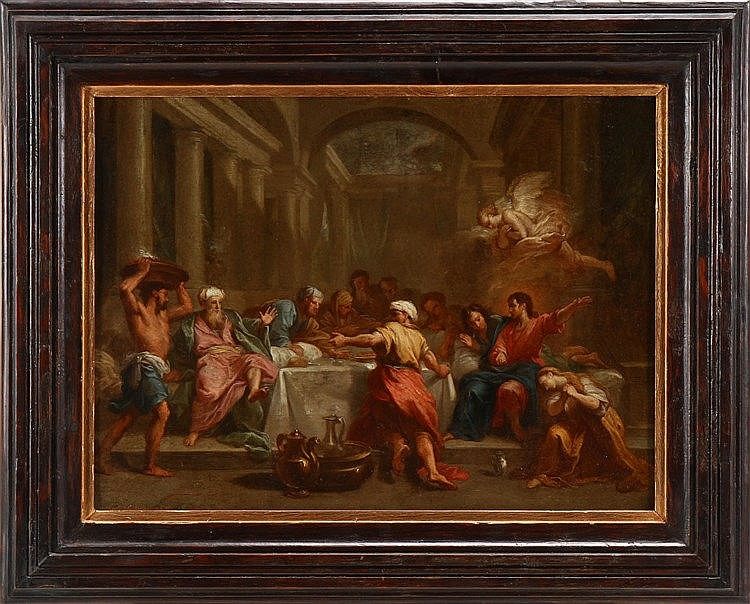 ITALIAN SCHOOL, 17TH/18TH CENTURY, BIBLICAL SCENE