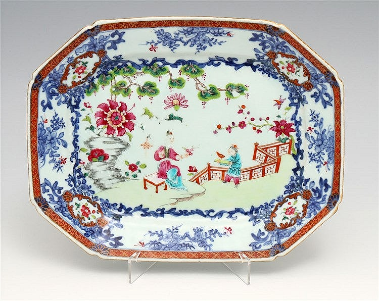 EIGHT-SIDED LONG PLATE