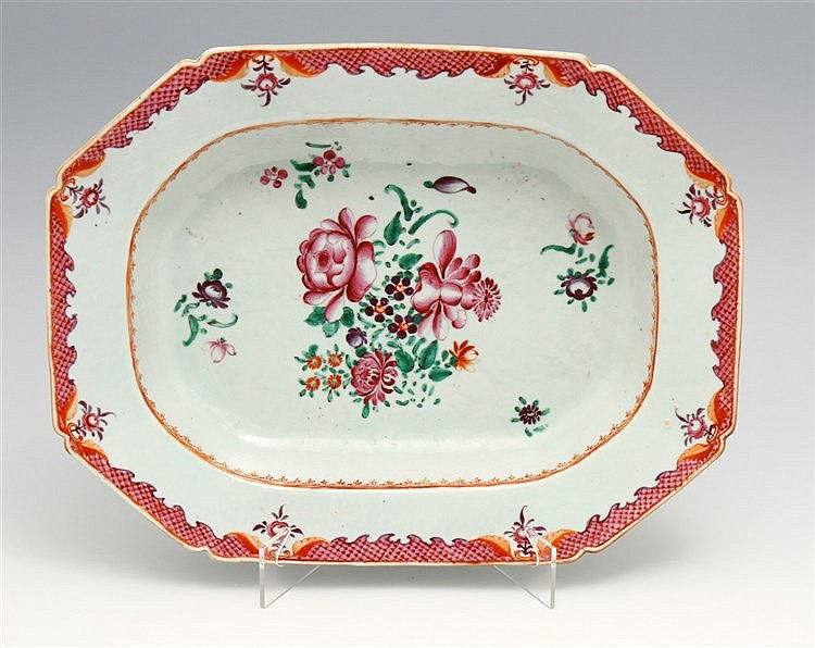 EIGHT-SIDED DEEP LONG PLATE