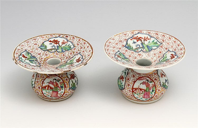 PAIR OF SPITTOONS
