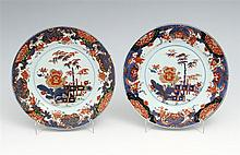 PAIR OF DINNER PLATES