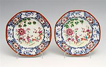 PAIR OF DEEP PLATES