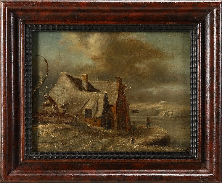 (studio of) JACOB VAN RUISDAEL (1628-1682), ANIMATED SCENERY