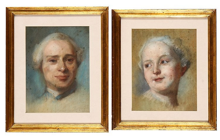 FRENCH SCHOOL, 18TH CENTURY, PORTRAITS