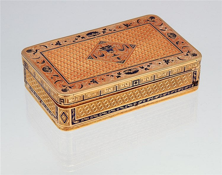 SNUFF BOX WITH MUSIC