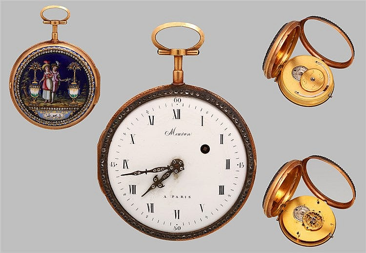 MEURON POCKET WATCH