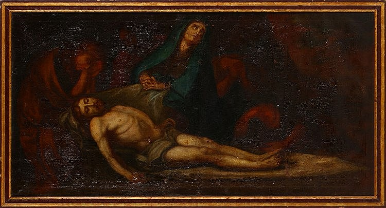 IBERIAN SCHOOL, 18TH CENTURY, PIETÀ