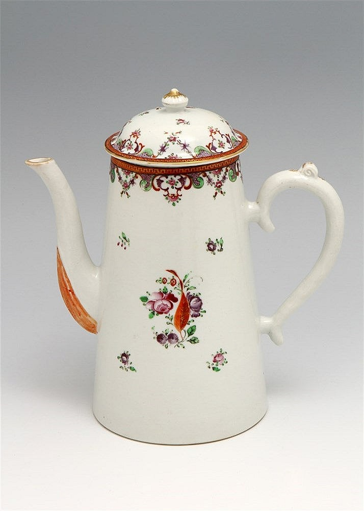 COFFEE POT WITH A LID